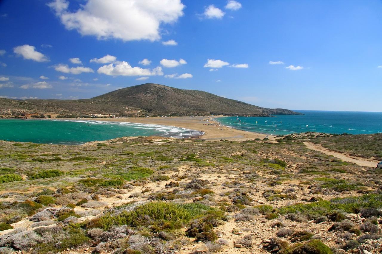 Pláž Prasonisi, Rhodos