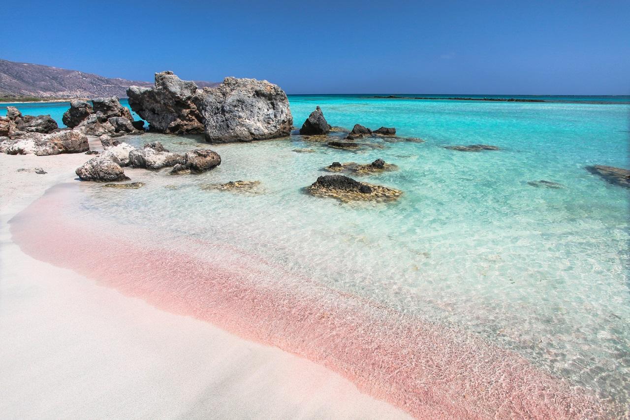 Pláž Elafonisi, Kréta