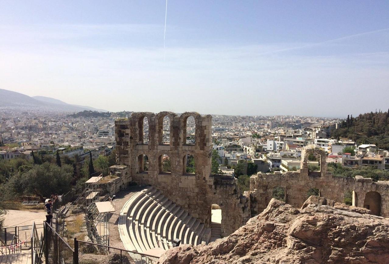 Panorama Athén, Řecko