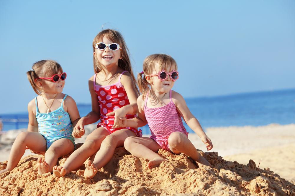 Dovolená u moře s dětmi