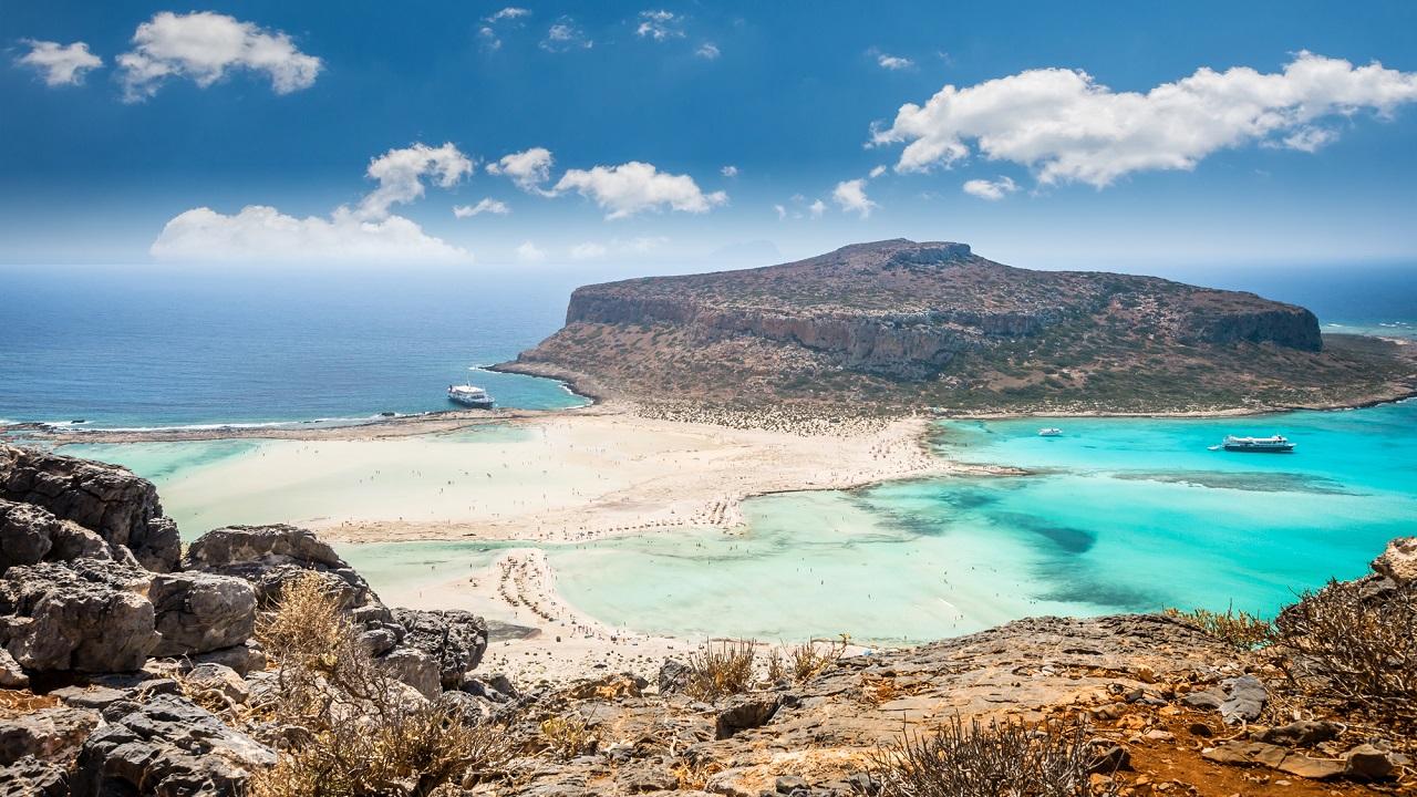 Pláž Balos, Kréta
