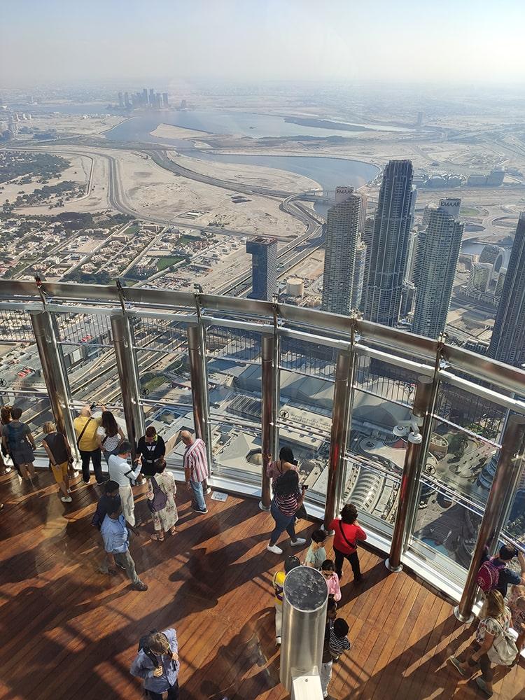 Burj Khalifa - výhled