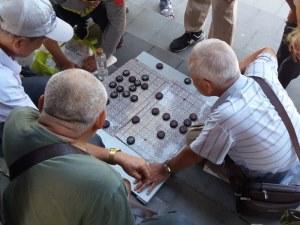 Parková kultura aneb důchodci se v Číně nenudí