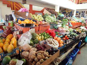 Senegalská tržnice
