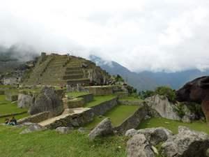 Machu Picchu v mlze