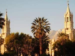 Katedrála ve městě Arequipa