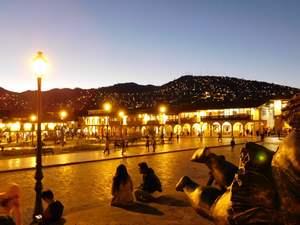 Večerní Cuzco