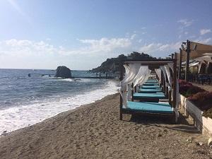 Hotel Eden Beach, pobřeží Attiky