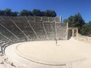 Asklépiův chrám v Epidauru