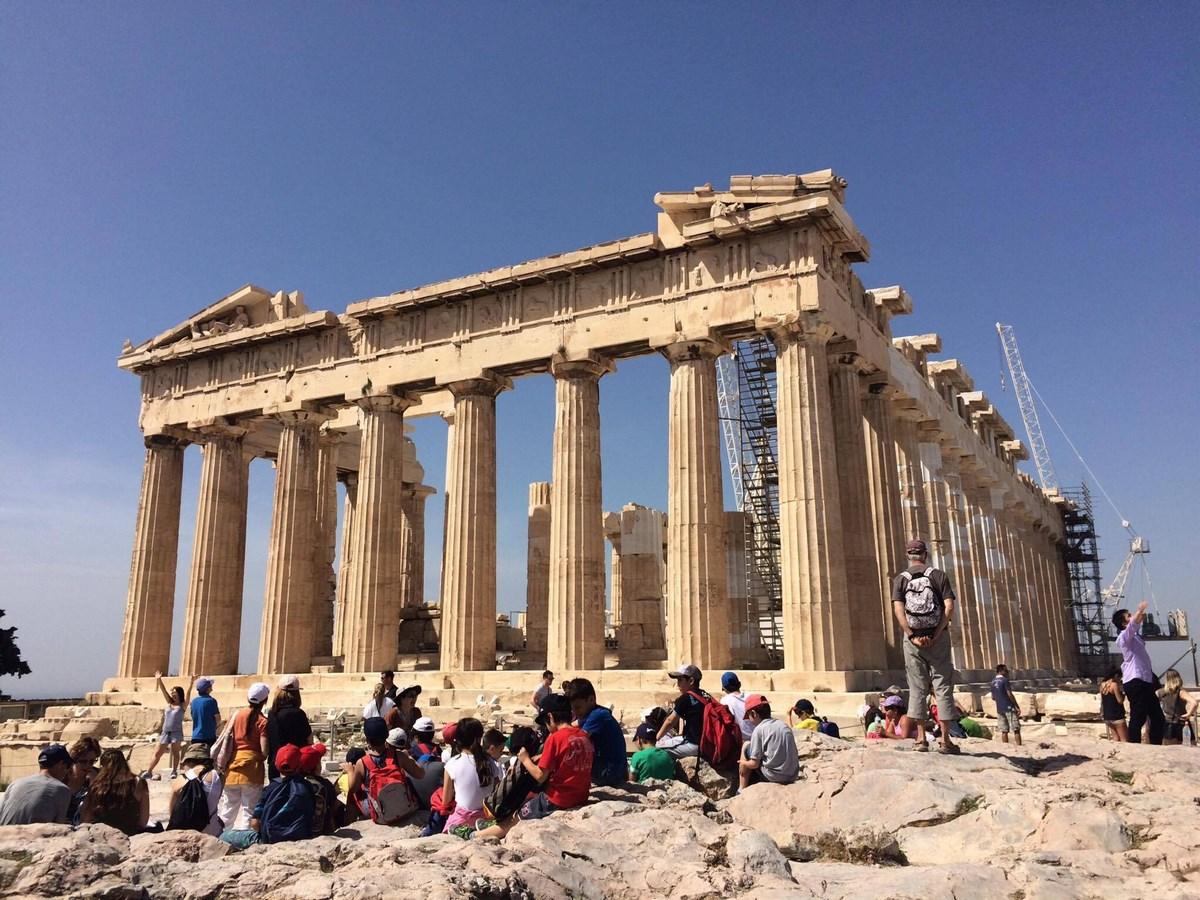 Parthenón, Atény