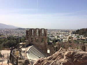 Panoráma Athén