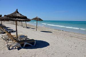 Tuniská pláž