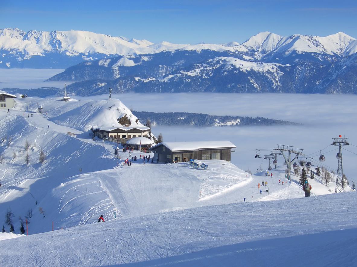Nassfeld / Hermagor, Rakousko