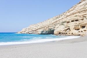 Pláž Matala, Kréta