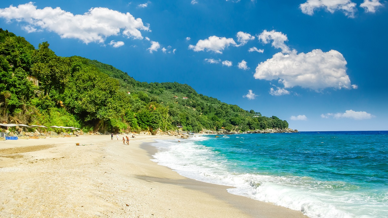 Pláž Plaka, Pelion