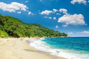 Pláž Plaka, oblast pevniny Pelion