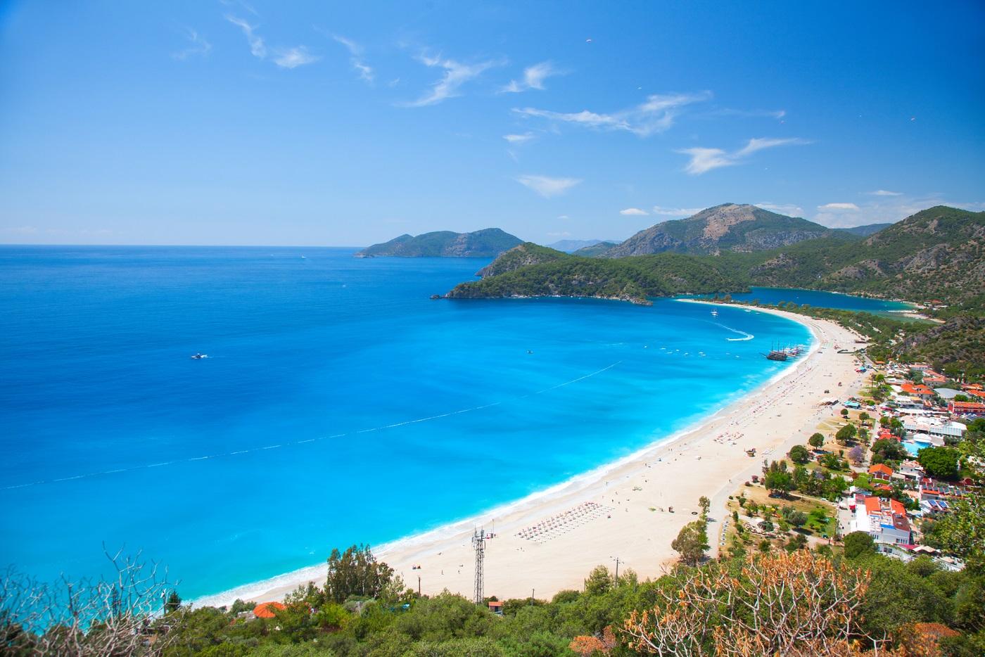 Modrá laguna – Öludeniz, Turecko